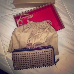 Panettone Spiked Zip Wallet, Women's